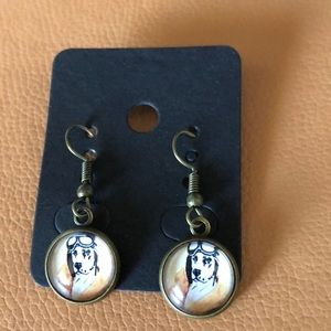 Jewelry - 5 for $25$ Dog French Wire Earrings